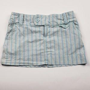 American Eagle Pinstripe Skirt Size 6